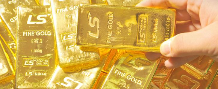 الذهب في أدنى مستوى له وانخفاض حاد فى 6 اسابيع