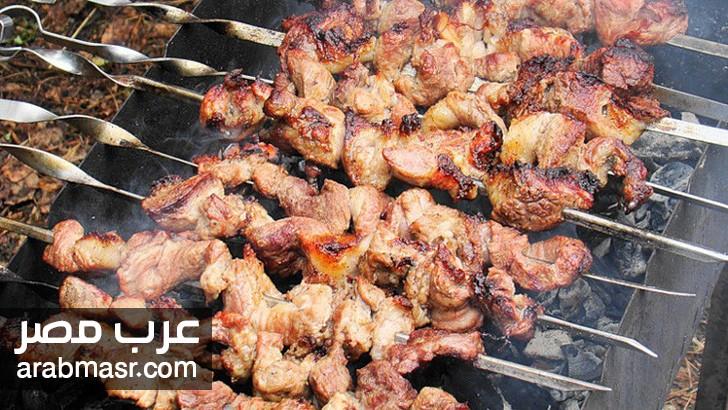 خطورة اللحم المشوى على الجسم