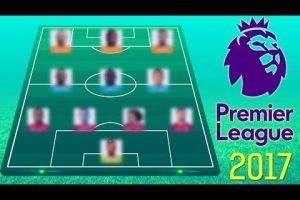الدوري الانجليزي أفضل تشكيلة لاعبين في الدوري الإنجليزي 2017