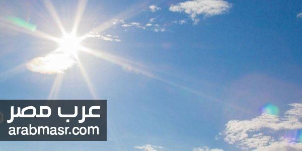 الارصاد الجوية المصرية تتوقع انخفاض في درجات الحرارة ونشاط  للرياح   شبكة عرب مصر