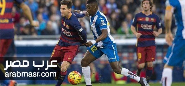 مباراة برشلونة وسبورتنج لشبونة فى دورى ابطال اوروبا | شبكة عرب مصر