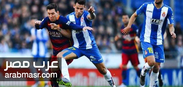 مباراة برشلونة وملقا فى الدورى الاسبانى تابعونا مع | شبكة عرب مصر