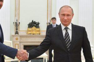 اجتماع بين الاسد وبوتين في روسيا لمناقشة وحل الاوضاع السورية